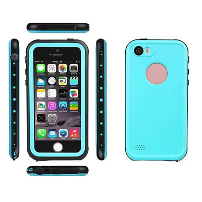 For i5 Fingerprint Waterproof IP68 Underwater Life Water Proof Shockproof Hard Case for iPhone 5s SE Phone Cover Coque Capinha