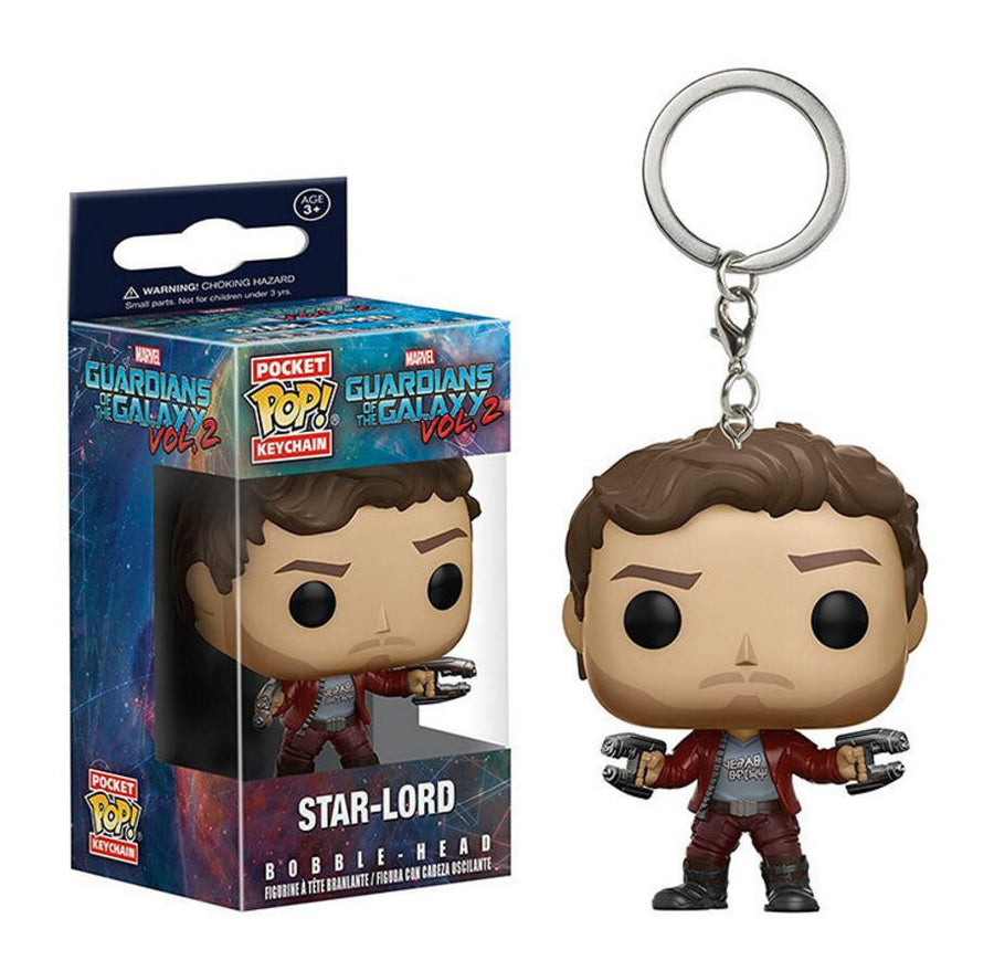 Funko Pop War Guardians of the Galaxy Dancing Groot Bobble Head Keychain Super Natural Join the Hunt Dean Castiel Pocket Pop Toy