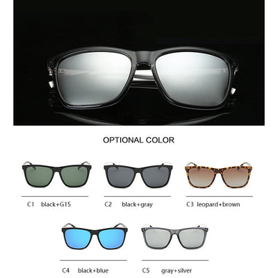 fed99eda7e4 HAPIGOO Classic Polarized Square Mirror Sunglasses Men Fashion Vintage Brand  Designer Driving Sun Glasses For Mens