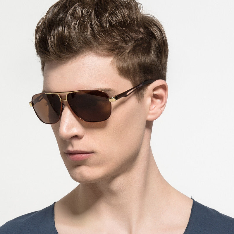 e81cb550312 HD.SPACE Polarized Lens Sunglasses Men Driver Mirror Sun glasses Male  Female men glasses LD020