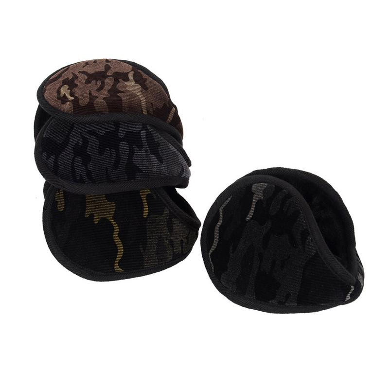 Outdoor Riding Camouflage Earmuffs Warm Men's Winter Days Earrings Ear Students Thickening Strong Abrasion Good Earmuffs