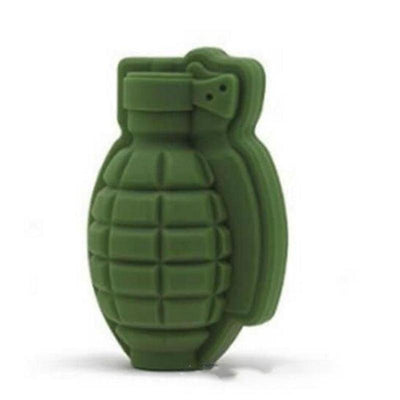 1pc 3D Grenade Shape Ice Cube Mold Ice Cream Maker Party Drinks Silicone Trays Molds Kitchen Bar Tool Gift #45  dailytechstudios- upcube