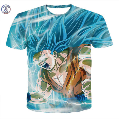 71cbb1ec54 Mr.1991INC&Miss.GO Summer New Men/Women 3D Printing Wukong Dragon Ball Z T  Shirt Gohan trunks vegeta cotton brand collar t shirt