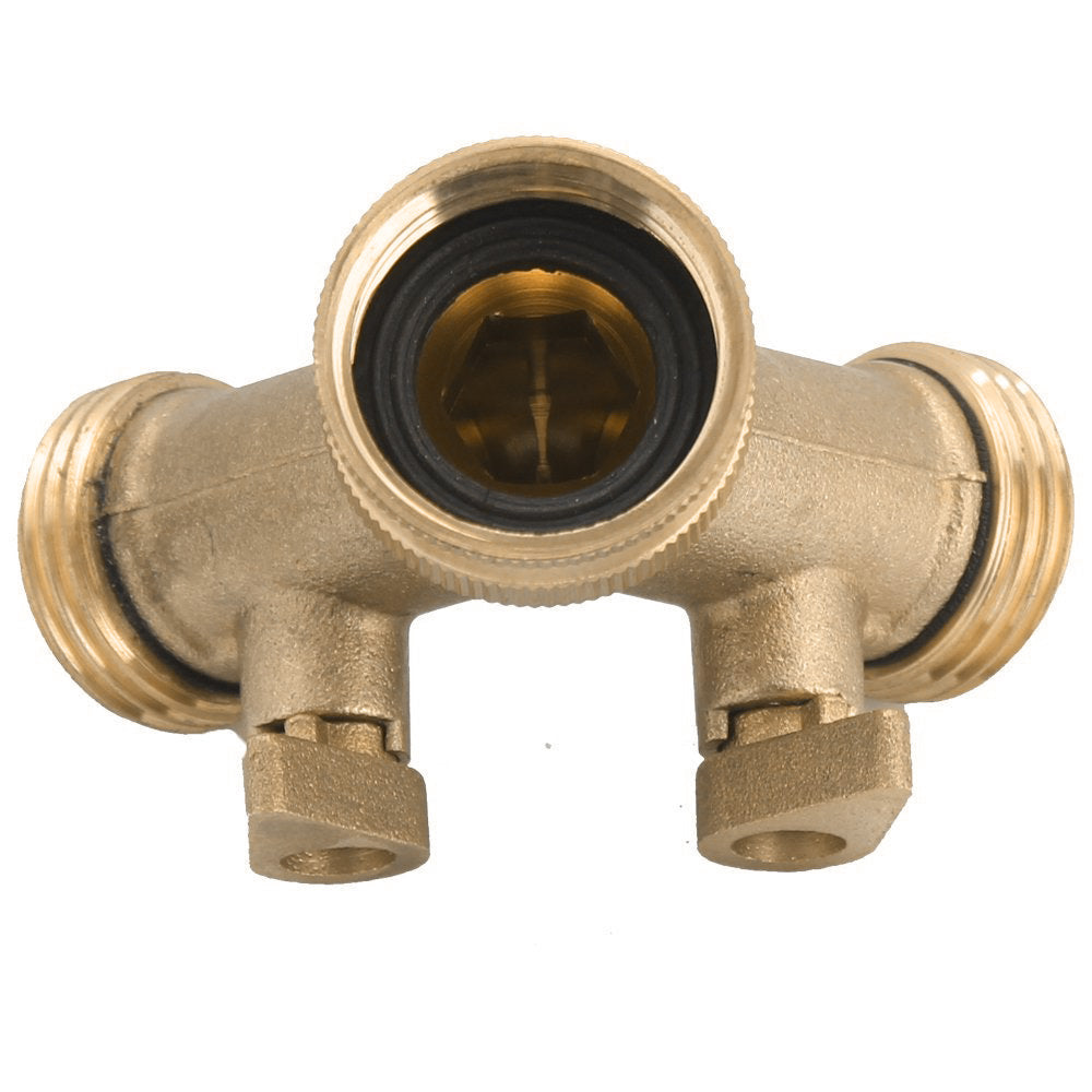 Fashion Garden Hose Connector With Hoses Washer Heavy Duty Brass Y ...