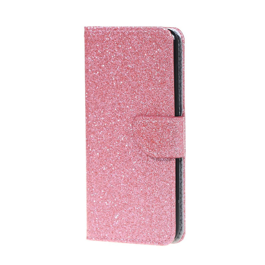 Bling Phone Cases For Sony Xperia XZ Premium SO-04J PU Leather Covers Capas For SONY XZ Premium G8141 G8142 Book Flip Coque Girl