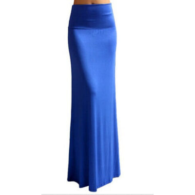 689efd6e1d Bohemian Style Autumn Casual Pencil Maxi Skirt Women Bandage Pleated Winter Long  Cotton Skirts