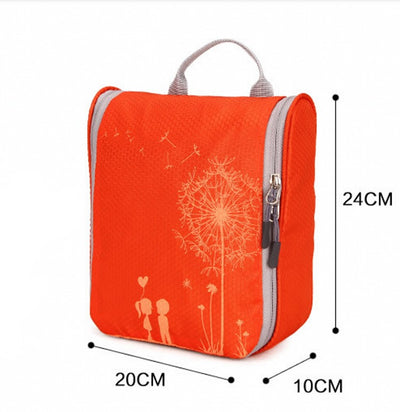 LHLYSGS Brand Fashion Dandelion Cosmetic Bag Women Travel Bathroom  Necessary Storage Makeup Tools Beauty Toiletry Organizer 1798e4873fe21