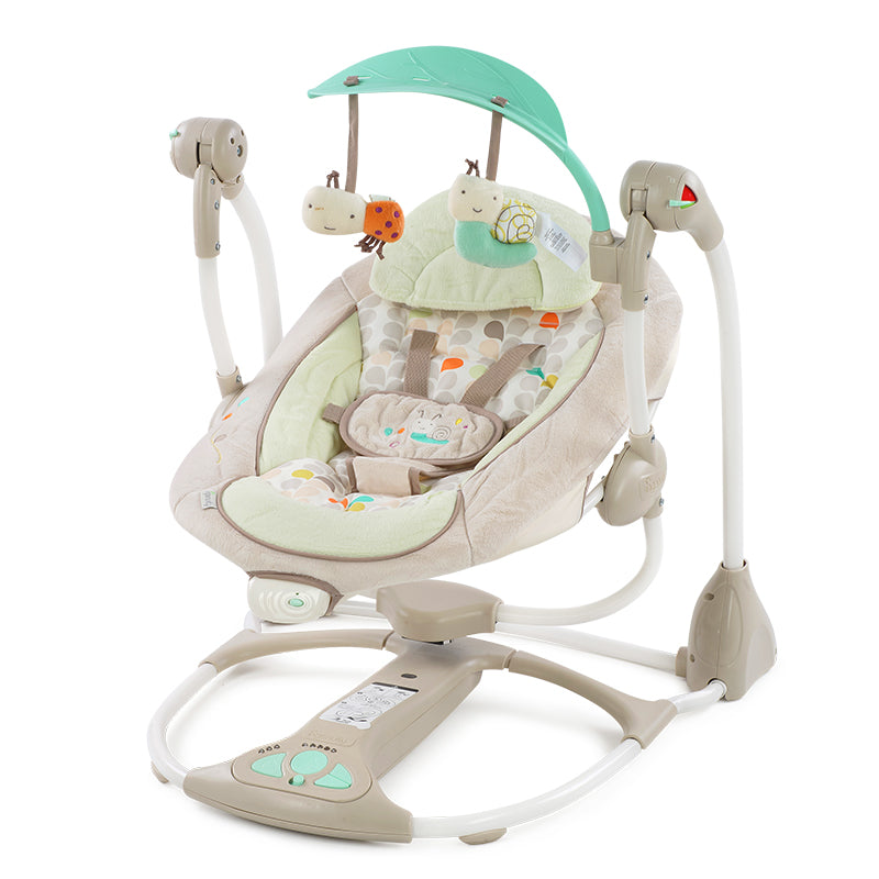 99c7b75c59fb Baby cradle to sleep musical rocking chair electric swing bouncer crib