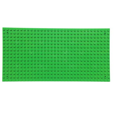 1PC 16*32 Sided Dots Small Blocks Base Plate Building Blocks DIY Baseplate Compatible with legoe Blocks Two Sides 25*12cm  UpCube- upcube