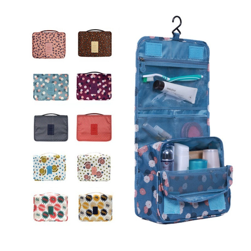 Woman Cosmetic Bags Packing Cubes Organizer Makeup Bag Travel Necessary Bag Large Capacity Storage Handbag Folding Bag JQ116Z