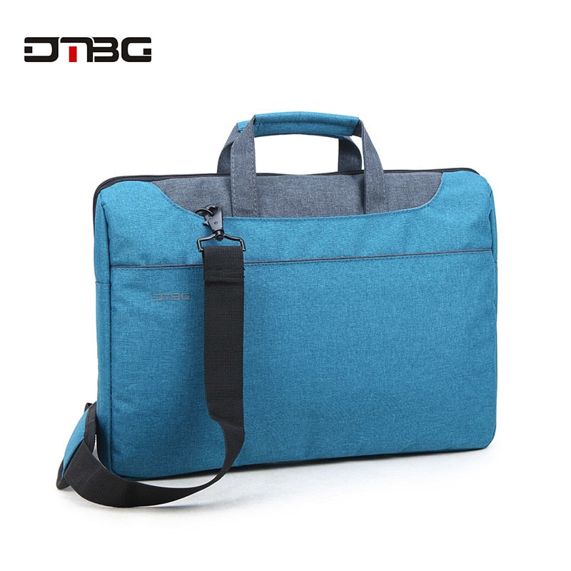 DTBG Classic Laptop Tote Bags 15.6 Inch Women Shoulder Bag Nylon Waterproof Laptop Case For Tablet Men Work OL Handbag Briefcase