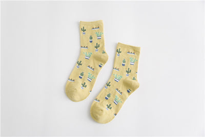 1Pair High Quality Women Girl Socks Comfortable Breathable Lovely Cute Socks Cotton Casual Chaussette Warm Calcetines Sox Hot  dailytechstudios- upcube