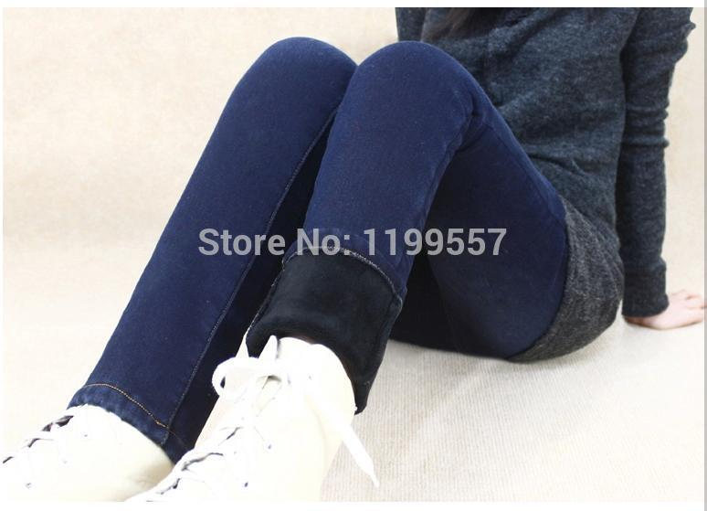 Maternity pants plus velvet thickening winter and Autumn Maternity Jeans for pregnant women Warm High Waist Pregnancy Trousers