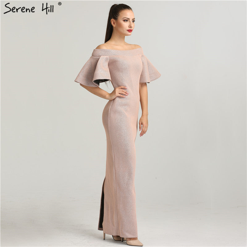 792f7ee785 Newest Designer Off Shoulder Fashion Evening Dresses 2018 Mermaid Luxury  Sexy Forormal Evening Gowns Serene Hill