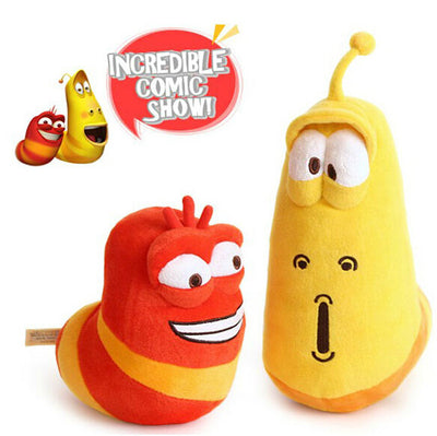 1pc 15cm&20cm Selling Item Fun Insect Slug Creative Larva Plush Toys Stuffed Doll For Children Christmas Gift  UpCube- upcube
