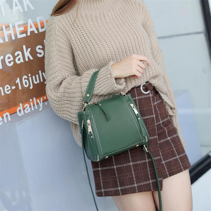 2018 New Summer Lady Women's Leather Handbags Brand Designer High-Quality Shoulder Bags Messenger Bags Fashion Travel Sac A Main