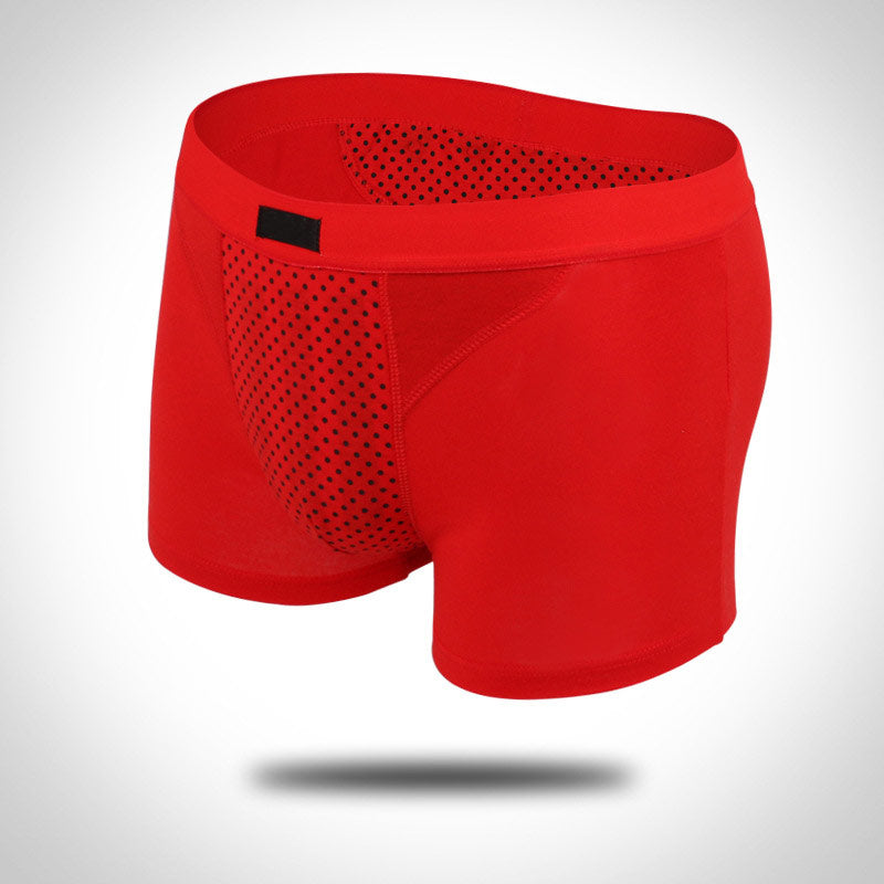 Men Sexy Underpants Physiotherapy Health Magnet Underwear Breathable  Panties Knickers Man Boxer Shorts XL-4XL -MX8