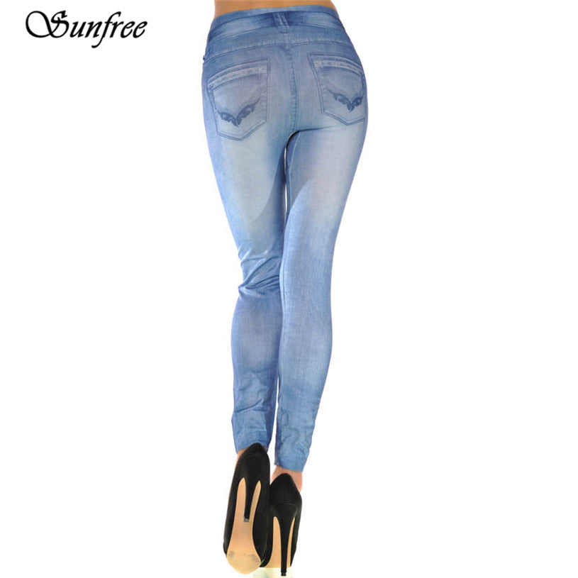 2018 New Hot SaleWomen Ladies Skinny Solid Color Denim Stretch Sexy Pants Soft Tights Brand New High Quality #TY7850