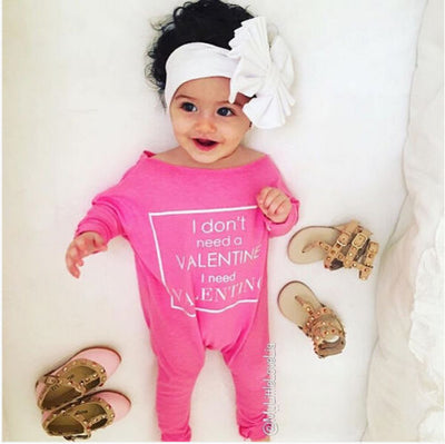 0-24M Newborn Baby Girl Clothes Infant Bebes Long Sleeve Cotton Romper Jumpsuit One Pieces Outfit - upcube