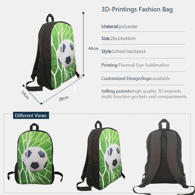 d63ef3f99923 FORUDESIGNS Handsome Horse School Bag for Teen Girls Primary Kids Back Pack  Tumblr Notebook Satchel mochila infantil Schoolbags