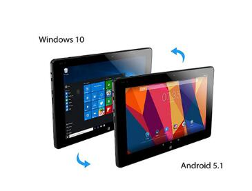 "ALLDOCUBE 10.1"" IPS 1920*1200  iwork10 Pro Windows10 Android5.1 Tablet Intel Atom X5 Z8350 Dual Boot Quad Core 4GB RAM 64GB Rom"