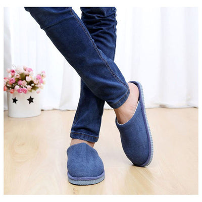 1Pair New Men Anti-slip Shoes Soft Warm House Indoor Slippers, EU 42-43, 44-45  UpCube- upcube