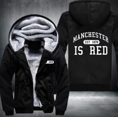 2017 new hot style hoodies Men and Women Sweatshirts Manchester Tops USA Size fast ship full Fleece best quality