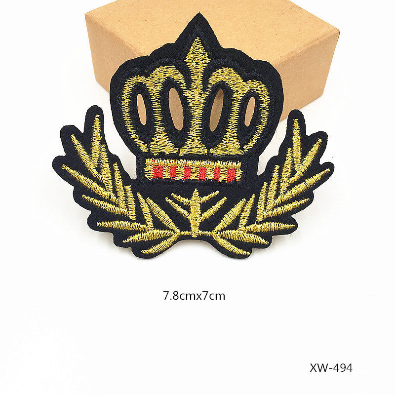 65bbfa4c8674 1 PCS Military Patches Cloth Stickers for Clothes Decoration Parches  Bordados Patch for Clothing Iron -