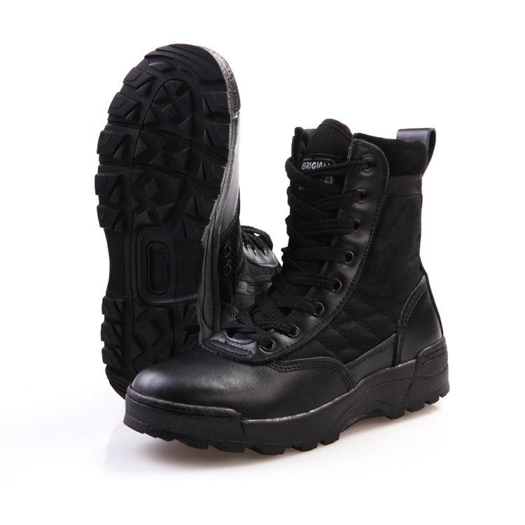2016 New America Swat Men's Tactical Boots Autumn And Winter Desert Boots For Military Enthusiasts Marine Male Combat Shoes