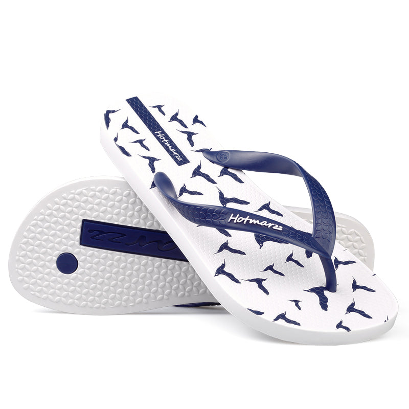 a7bed338d07678 Hotmarzz Men Flip Flops Summer Shoes Fashion Beach Sandals Seagulls Animal  2017 Home Slippers Anti-