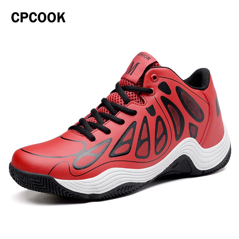 2018 Men Basketball Shoes High Top Outdoor Cushioning Anti-slip Shoes Male Trainers High Quality Sport Sneackers