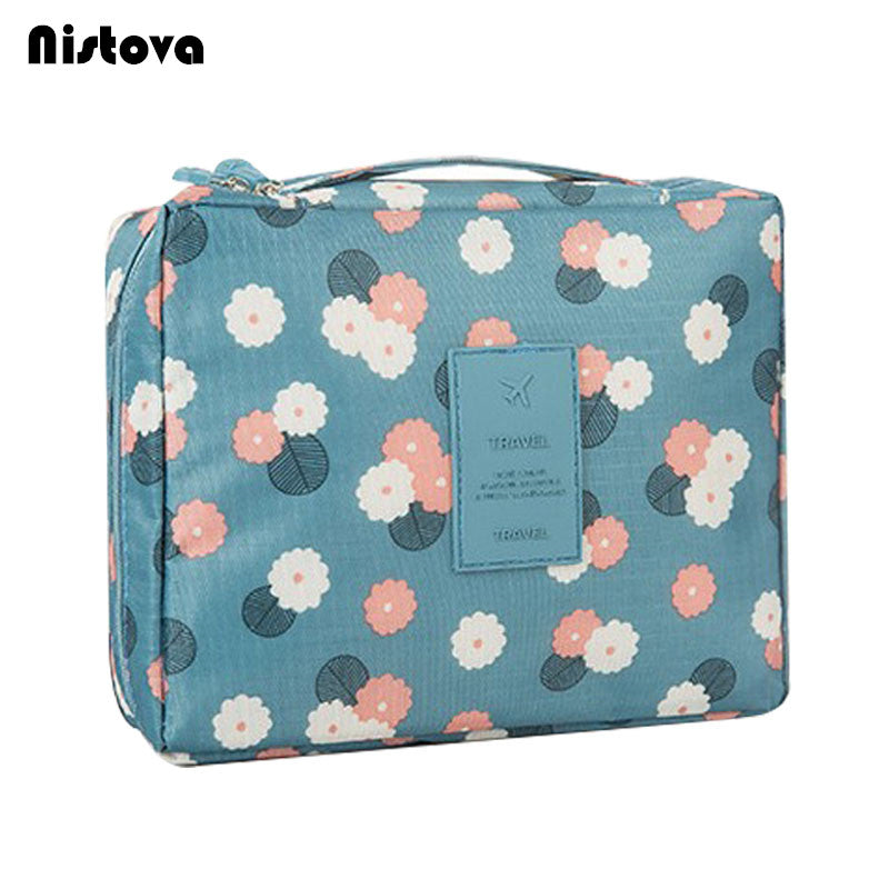 883e29f0f3 Women Travel Toiletry Wash Bra Underwear MakeUp Makeup Case Cosmetic Bag  Organizer Accessories Beautician Vanity Necessaire