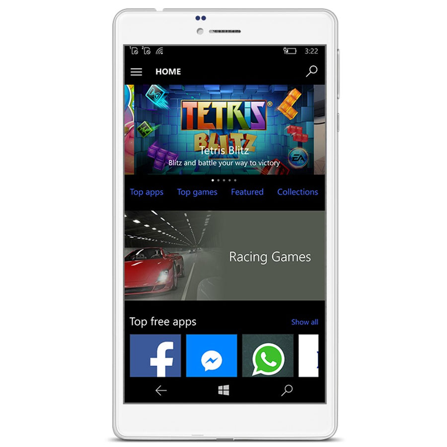 ALLDOCUBE WP10 6.98'' IPS 4G Phone Call Phablet Windows 10 MSM8909 Quad Core 1.3GHz 2GB+16GB 5MP Camera Tablets PC GPS Bluetooth