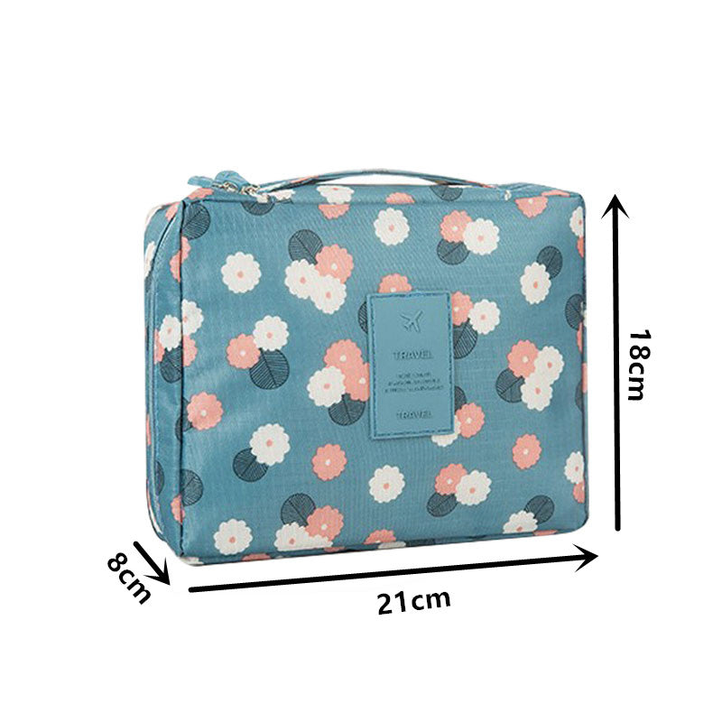 Women Travel Toiletry Wash Bra Underwear MakeUp Makeup Case Cosmetic Bag Organizer Accessories Beautician Vanity Necessaire Trip
