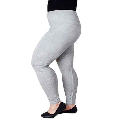 1f64efe7d67a Women Legging Plus Size Thin Sexy Black Cotton Modal Leggings for Workout  High Waist Ankle Length