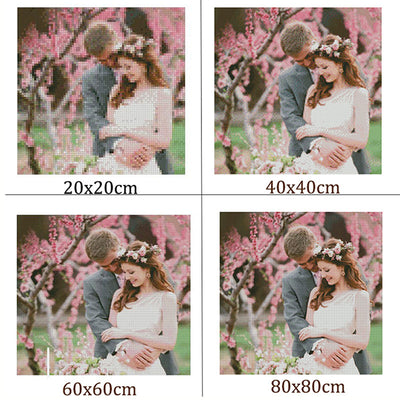 """Photo custom"" DIY Diamond Embroidery! 5D,Private custom,Diamond Painting 3D Home Decor Gift ""Can make any photos and size!!! "" - upcube"
