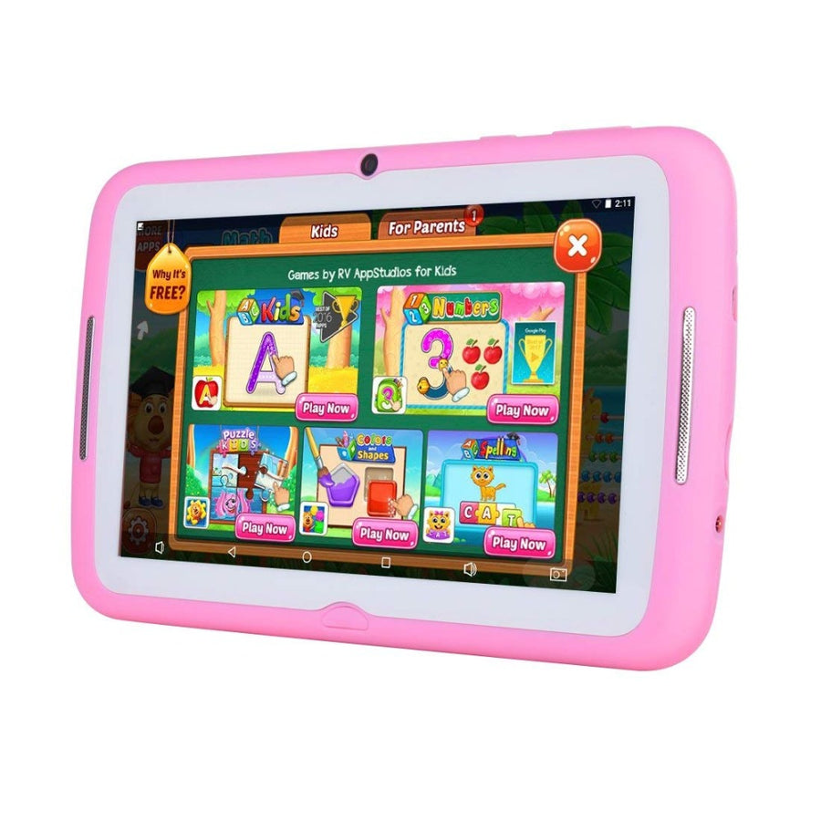 "2018 New Kids Tablet PC Android 7.1 Kids Tablet 7"" HD Screen 1GB/8GB Babypad Edition PC with WiFi and Dual Camera Play Games"