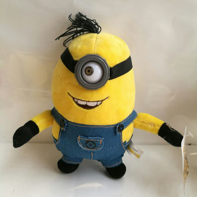 1pc 20cm 25cm Minions Bob Kevin Stuart Plush Animal toy Movie Minions pendant kids gift baby toy Birthday Gift  UpCube- upcube