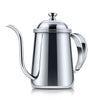 1Pc 650ML Colorful Stainless Steel Coffee Pot Long Mouth Coffee Pot Teapot Gooseneck Spout Kettle Drip Coffee Kettle  dailytechstudios- upcube