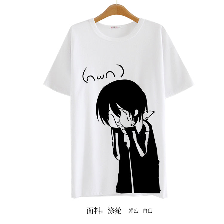 4dcabe760073 2016 Summer Style Sudadera Anime Tops Tee Casaul Noragami T-shirt Women  Japan Cool Clothes