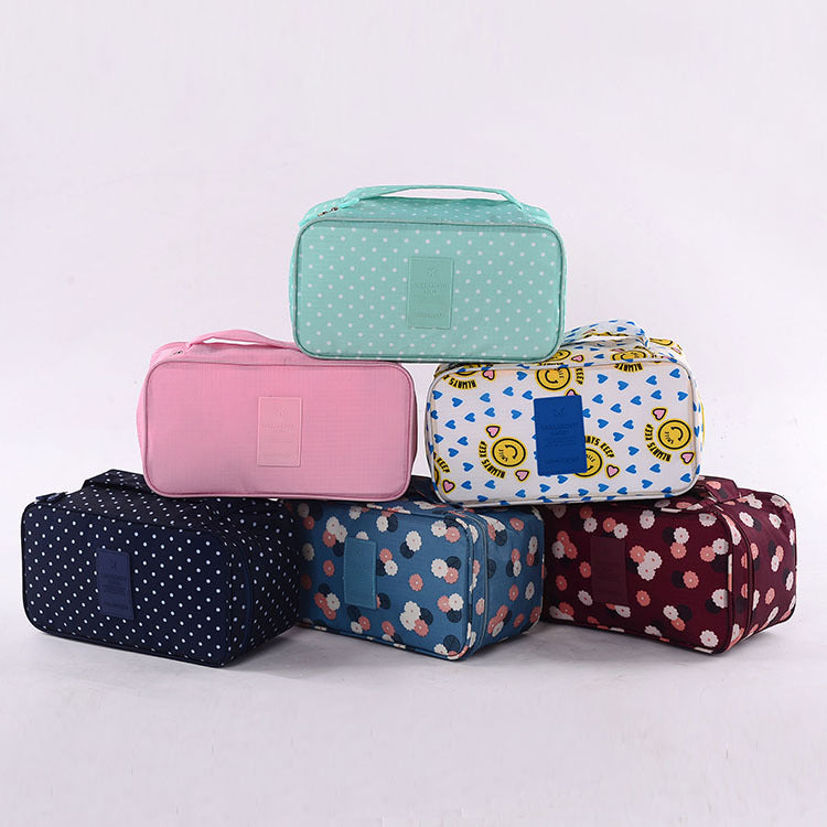 NEW Arrival Storage Cosmetic bag Wash bags Travel Bra Sorting Organizer Bags Waterproof makeup Bags purse LM3529ay