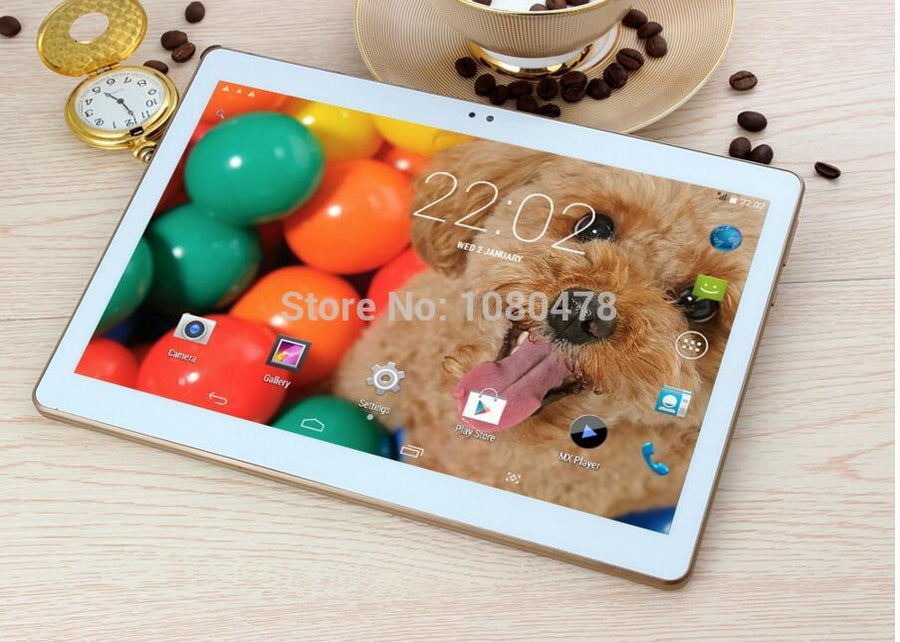 2018 Newest 10 inch Tablet PC Octa Core 4GB RAM 64GB ROM Android 7.0 IPS GPS 5.0MP WCDMA 3G Tablets +Gifts