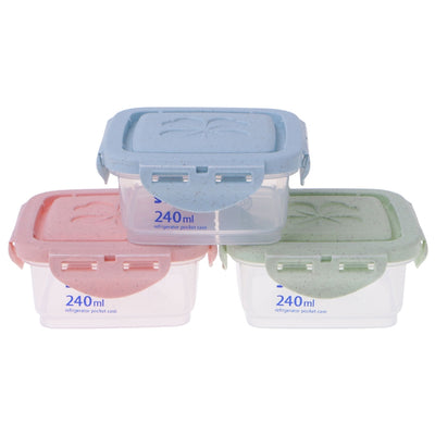 1PC Cereal Dispenser Storage Box With Lid Food Rice Pasta Container Dry Bin 3 Sizes Dec4  UpCube- upcube