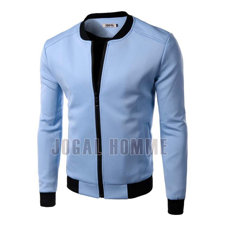 New White Jacket Men 2016 Fashion Design Mens Slim Fit Zipper Baseball Jacket Brand Stylish College Varsity Jacket Vest Homme