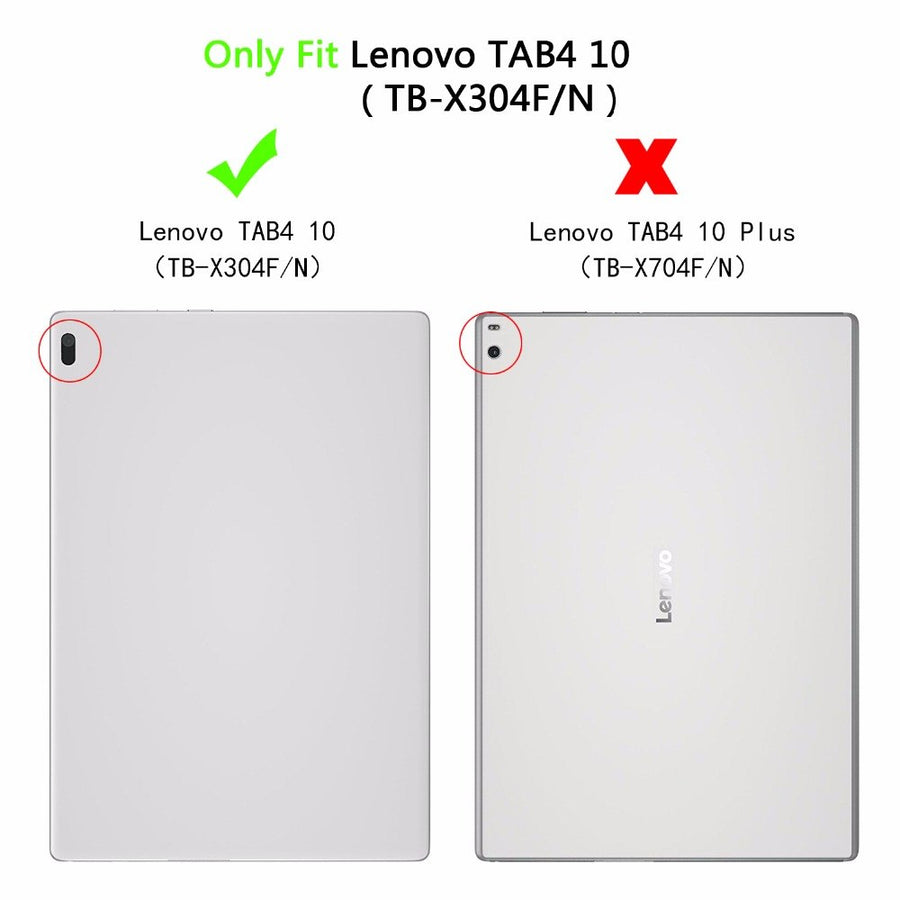 Case For Lenovo Tab 4 10 TB-X304L TB-X304F/N Print  Leather Stand Cover For Lenovo Tab 4 10 Tablet Funda+Screen Protector Stylus