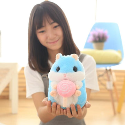 1pc 22cm/32cm Super Cute Hamster Plush Toys Stuffed Animal Hamster Toys Dolls Best Gifts For Kids  UpCube- upcube