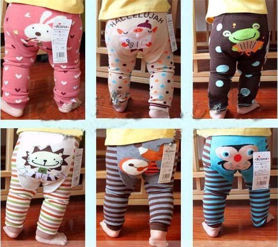 Free Shipping ! 2016 Cotton Baby Pants Kids PP Pants Children Boys Girls Leggings 36 color choose free 18pc/lot melee.
