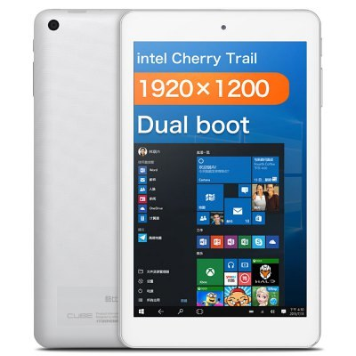 Cube8inch 1920*1200 Cherry Trail Z8300 Quad Core 2GB 32GB HDMI AlldoCube iwork8 air Dual Boot Windows10 + Android 5.1 Tablet PC