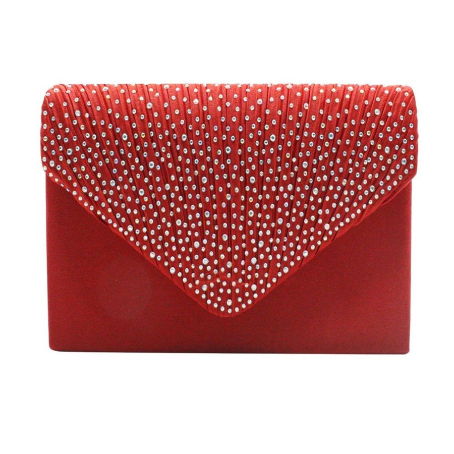 Blosa Fashion Women Clutch Bag Red Charms Party Night Club Evening Bag Charms Solid Color Female Dinner banquet Bag Clutches Bag