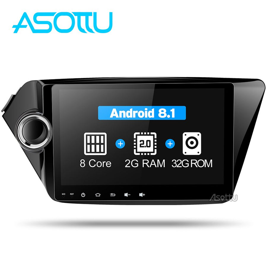 Asottu CK29060 IPS android car dvd player gps navigation for Kia k2 RIO 2010 2011 2012 2013 2014 2015 car radio stereo dvd gps
